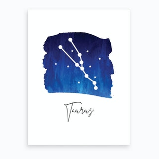 Taurus Zodiac Art Print