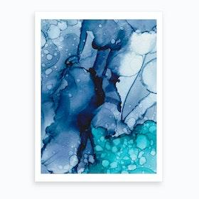 Ink No10 Art Print