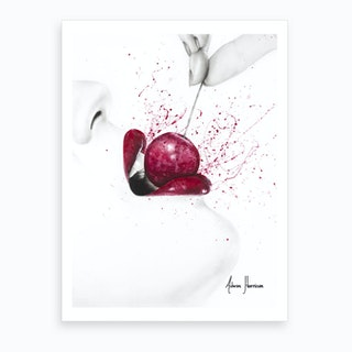 Little Sweet Cherry Art Print