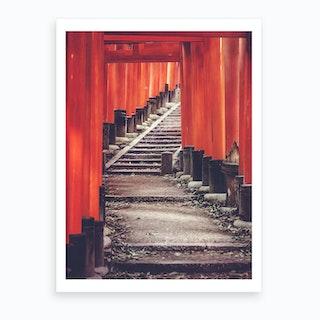 Japanese Torii Art Print
