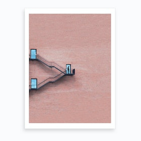 Locked Out  Art Print
