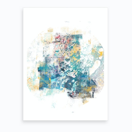City Tide   Abstract Painting II Art Print