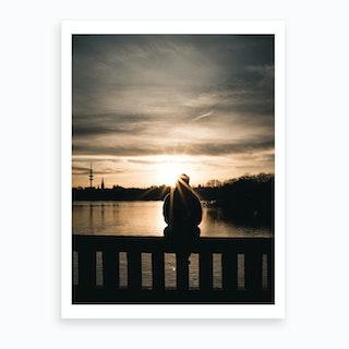Sunset Lookout Art Print