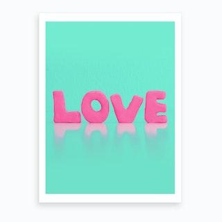 Love Sells Art Print