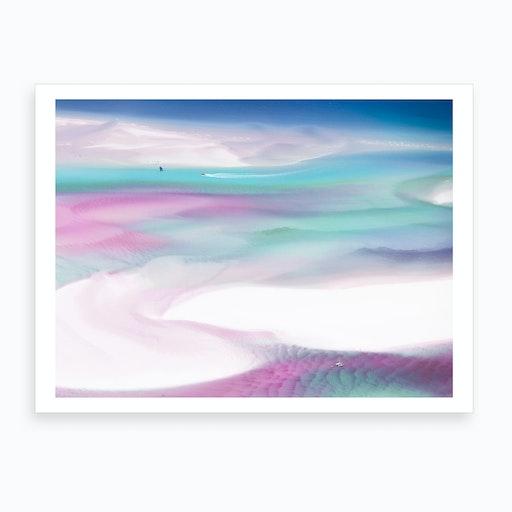 Pink Sea Breeze Art Print