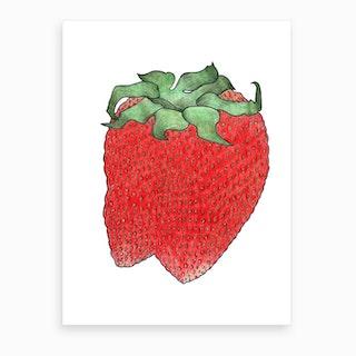 Strawberry 2 Art Print