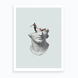 Get Out Of My Head Art Print