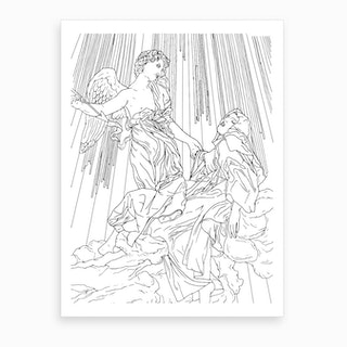 Our Lady Of Victory In Rome Art Print