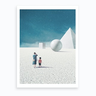 You Taught Me How To Look Around Art Print