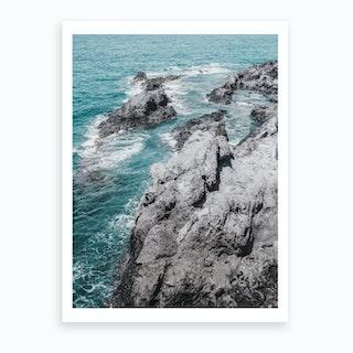 Rocky Coast II Art Print