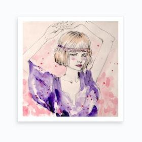 A Bohemian Girl Art Print