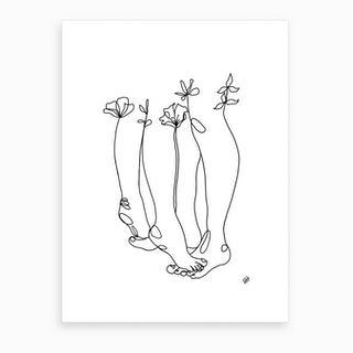 Tippy Toes Art Print