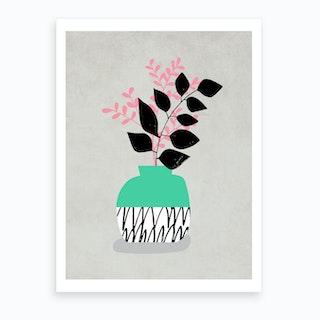 Vase Still Life Art Print
