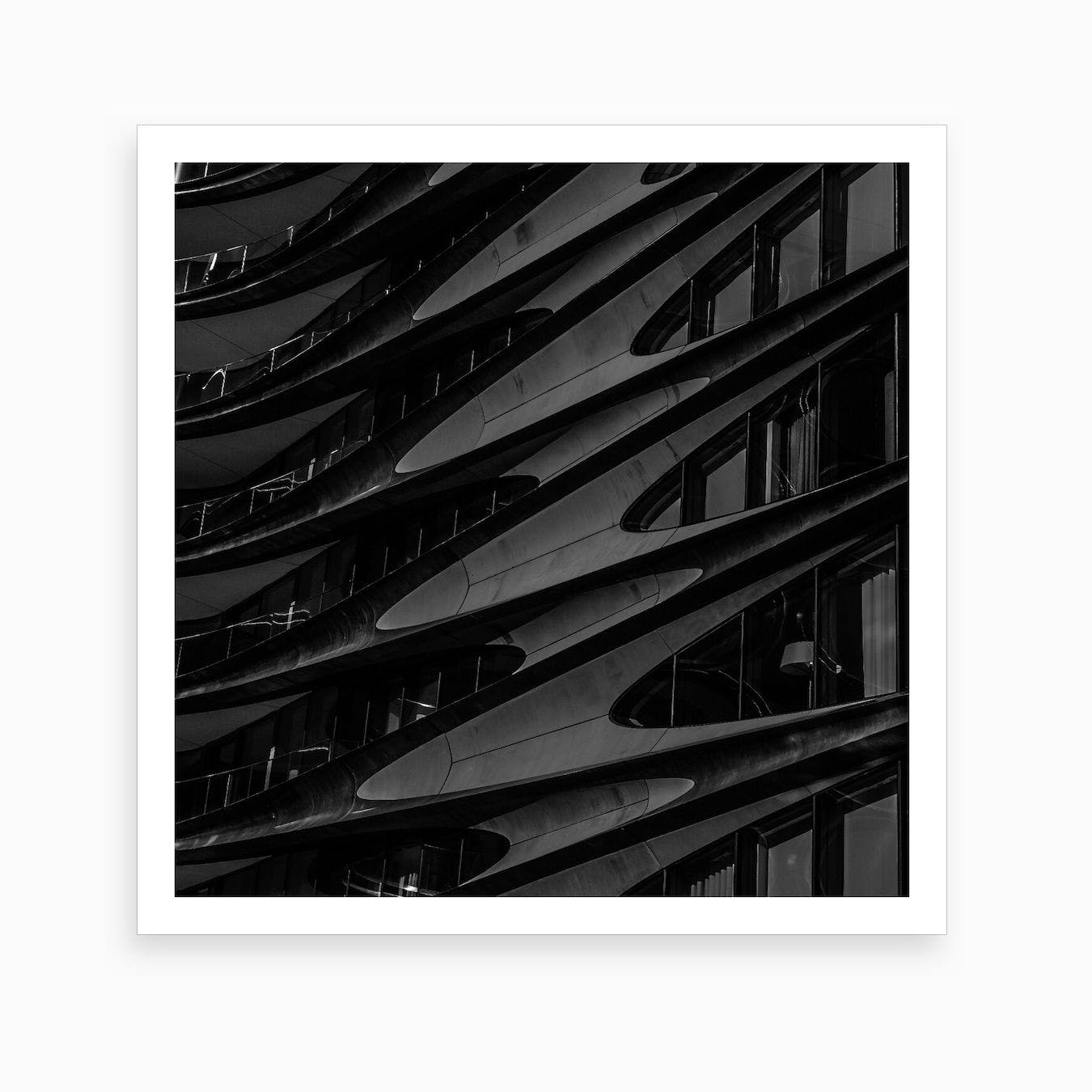 The High Line   Square Art Print