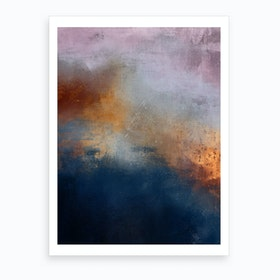 Oil Bright Ii Art Print