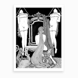 Rapunzel Series 2 Art Print