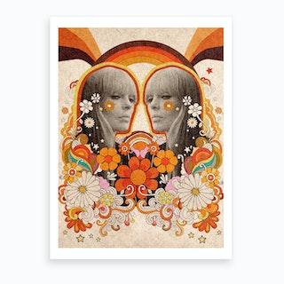 Nico Velvet Underground Art Print