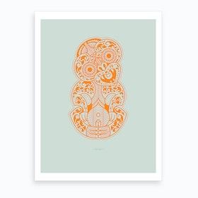 Hei Tiki Art Print