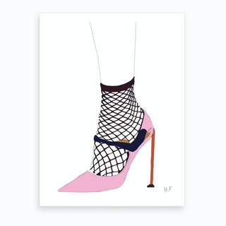 Fishnet Art Print