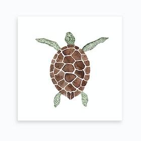 Sea Turtle2 Art Print