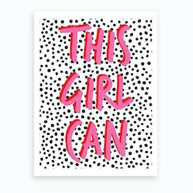 Girlcan Art Print