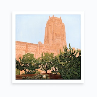 Cathedral Campus Art Print