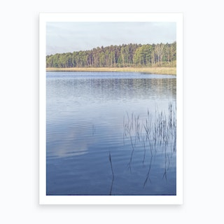 Summer Lake 2 Art Print