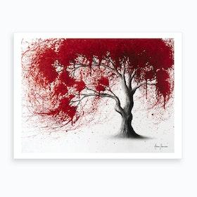 Western Iron Tree Art Print