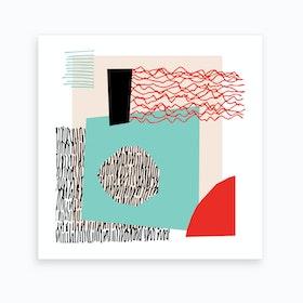 Quiet Noise3 Art Print
