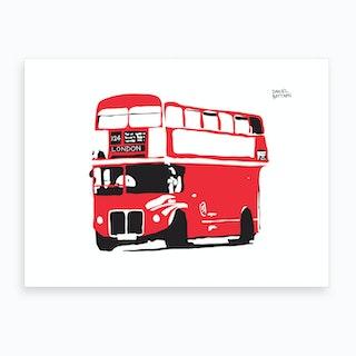Routemster London Bus Art Print