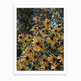 Happy Yellow Art Print