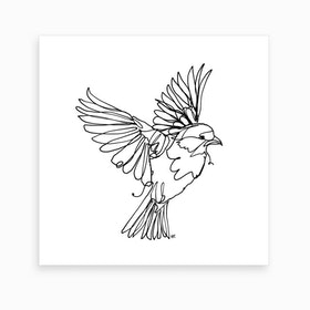 If You Are A Bird Art Print