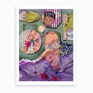 Erosandpsyche Art Print