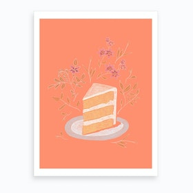 Piece Of Cake Art Print