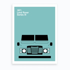 1971 Land Rover Series Iii Art Print