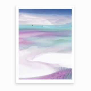 Pink Sea Breeze II Art Print