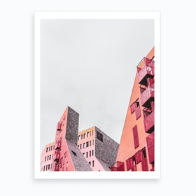What Goes Up Art Print