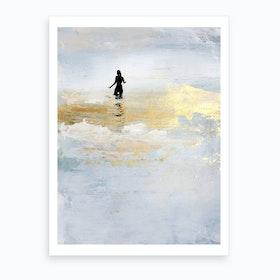 Sun Dip Art Print