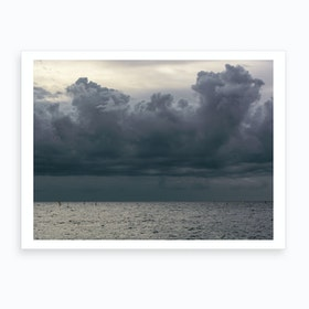 Seaside 8 Art Print
