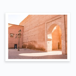 Marrakech Morocco Walls 2 Art Print