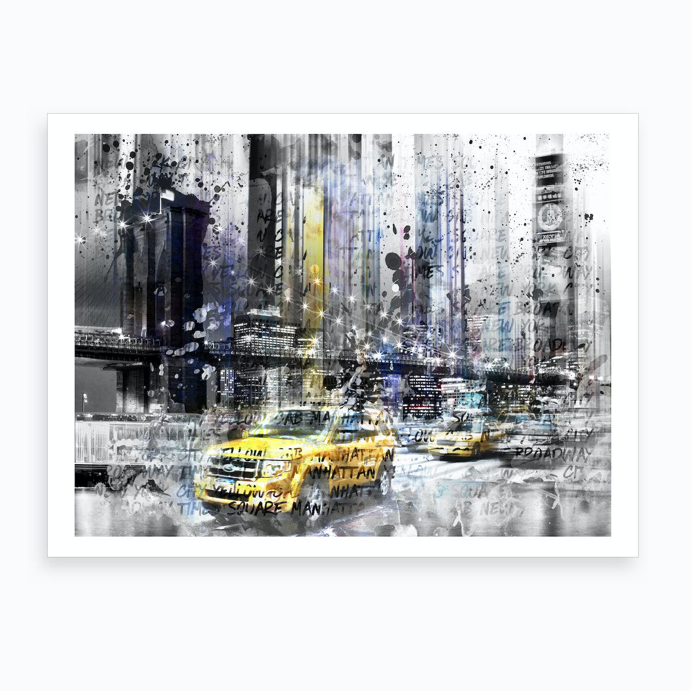 Modern Art New York Art Print
