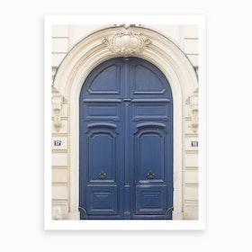 Paris Door II Art Print