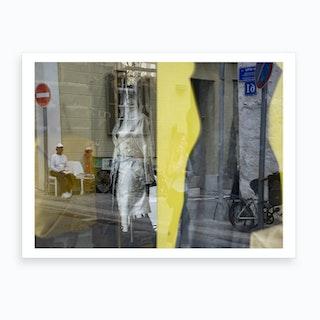 Window Shopping 4 Art Print
