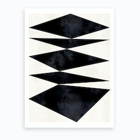 Dancing Forms Art Print