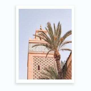 Marrakech Mosque Marrakech 2 Art Print