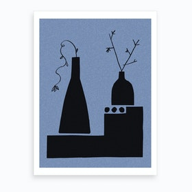 Little And Large Art Print