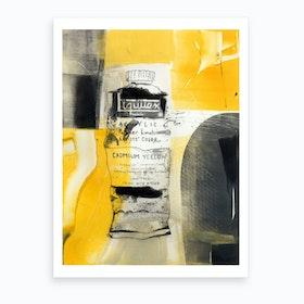 Cadmium Yellow Art Print