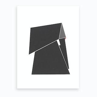 Red Spot Art Print