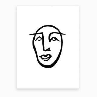 Faces 2 Art Print