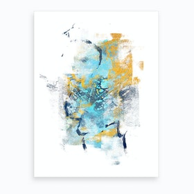 Element Metamorphosis  Abstract Painting IV Art Print